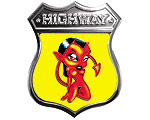 Highway Dekal - Diabolo Girl