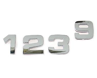 Kromade Siffror 0-9