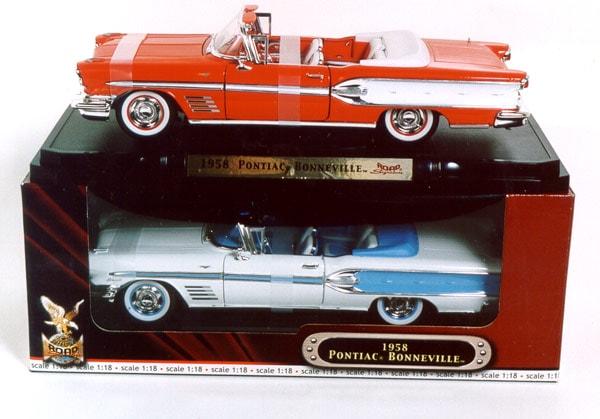 Pontiac Bonneville 1958 Modellbil F 246 R 349 Kr