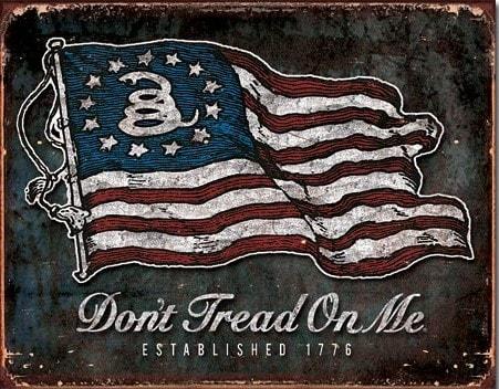 DTOM Vintage Flag – Retro Skylt