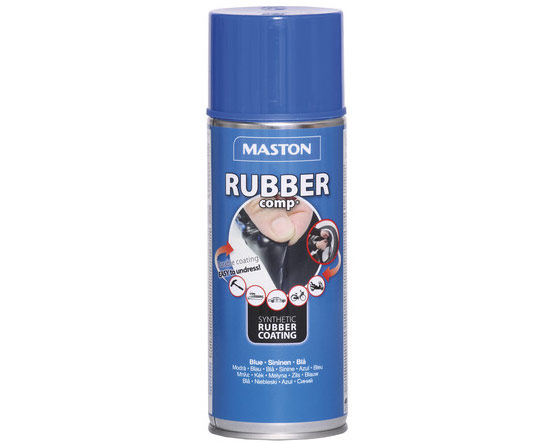Rubber Comp, Maston Sprayplast - Blå
