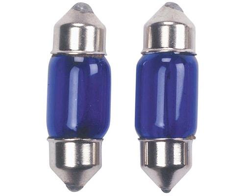 Glödlampa Blå 10W 10x31