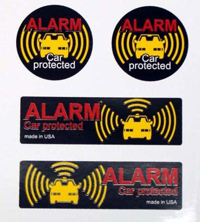 Car Alarm - Dekal