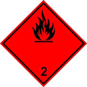 Dekal Flammable Subtance