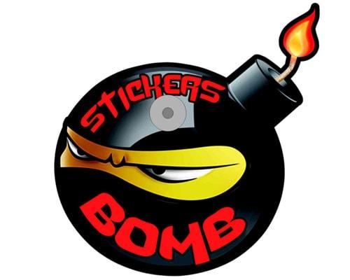 bomb med sugpropp f r 39 kr bilmaskot sucker bomb. Black Bedroom Furniture Sets. Home Design Ideas