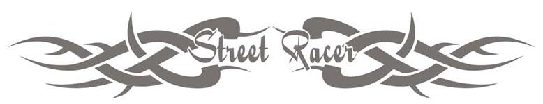 Bakrutedekal - Tribal 1 Street Racer