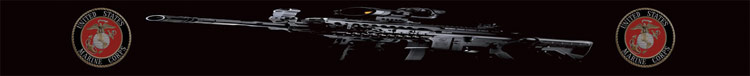 Sun Screen - USMC Machine Gun
