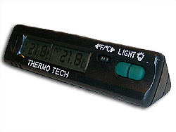 Termometer Svart