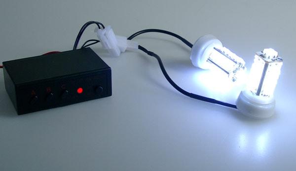 26 LED Strobe-Flash-Steady Kit - 21mm