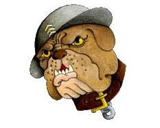 Police Dog - CarTattoo