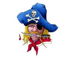 Pirate - CarTattoo