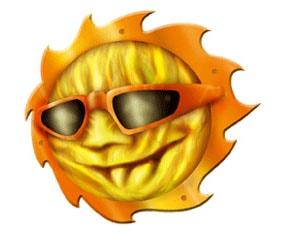 Sun - CarTattoo