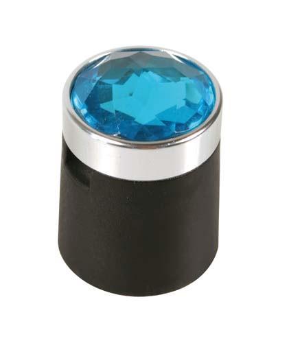 Wheel Nut Caps – Blue Crystal