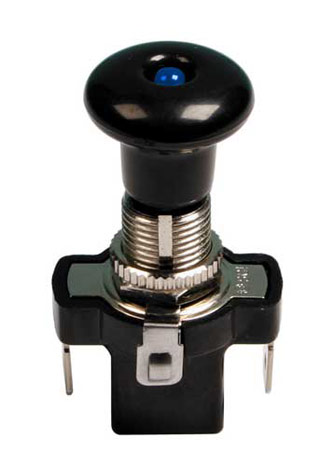 Strömbrytare Push-pull Switch LED
