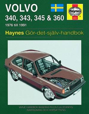 Volvo 340, 343, 345 & 360 (76-91) – Reparationshandbok