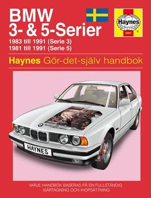 BMW 3- och 5-serier (81-91) – Reparationshandbok