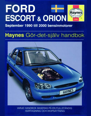 Ford Escort och Orion (90-00) – Reparationshandbok