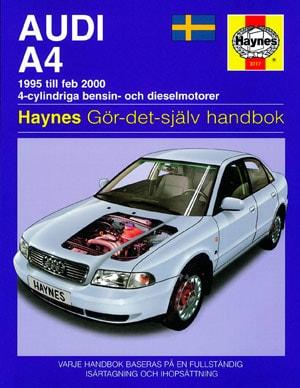 Audi A4 (95-00) – Reparationshandbok