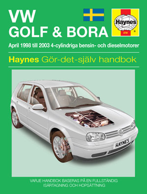 VW Golf IV & Bora (98-00) – Reparationshandbok