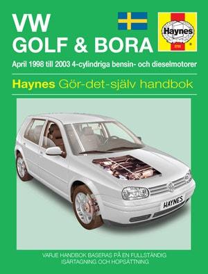 VW Golf IV & Bora (98-00) – Reparationshandbok