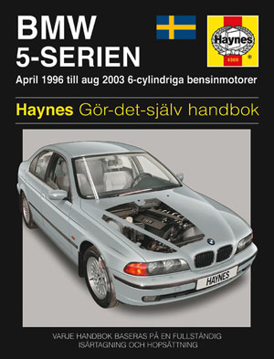 BMW 5-Serie (96-03) – Reparationshandbok