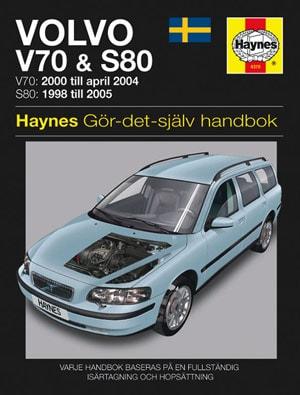 Volvo V70 (00-04) & S80 (98-05) – Reparationshandbok