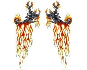 Blazing Scorpions - CarTattoo