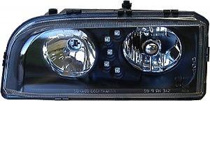 Framstrålkastare LED Svart Volvo 850 94-97