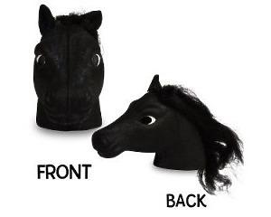 Häst Svart Antennboll