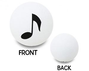 Music Note Antennboll