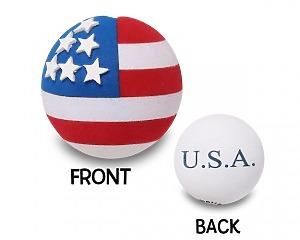 USA Flagga Rund