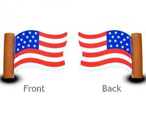 USA Flagga Wave