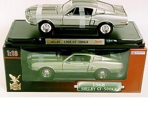 Shellby GT 1968 - Modellbil