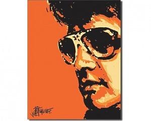Elvis Presley Tigerman - Retro Skylt