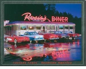 Rosie's Diner - Retro Skylt