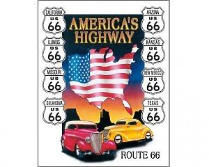America's Highway  - Retro Skylt
