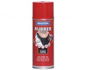 Rubber Comp, Maston Sprayplast - Röd
