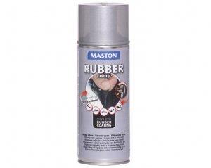 Rubber Comp, Maston Sprayplast - Fälgsilver