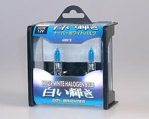 Glödlampor - Super White 4200K H1