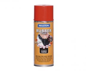 Rubber Comp, Maston Sprayplast - Neon Orange
