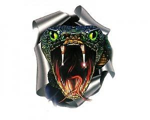 Snake WildGraphic Liten - Dekal