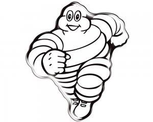 Michelin-gubbe 3d-dekal