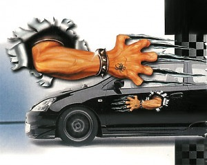Scratching Arm - Dekal