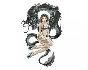 Dragon Woman - 17x10