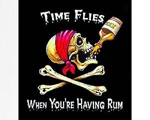 Time Flies - Dekal
