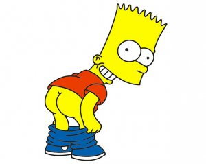 Bart Simpson - Dekal