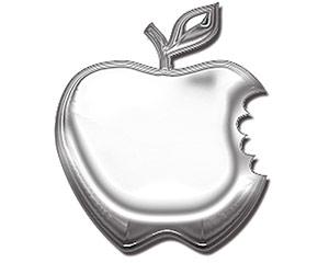 Apple - Metal Emblem