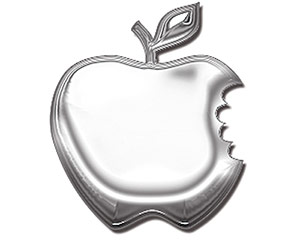 Apple - Metal Emblem