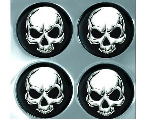 Alu Wheel Trim Skulls