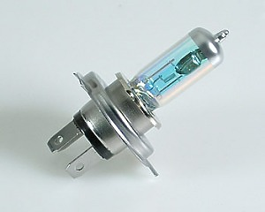 Glödlampa H4 60/55W Xenon Mega White
